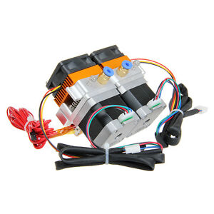 Geeetech dual extruder mk8 with dual stepper motor for 3d for Stepper motors for dummies