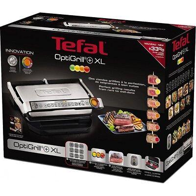 Tefal Optigrill+ Plus XL GC722D Kontaktgrill Elektrogrill Tischgrill 2000W