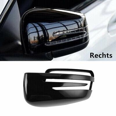 Rückspiegel Abdeckung Schwarz Spiegelkappen für Mercedes W221 W212 C218 X156