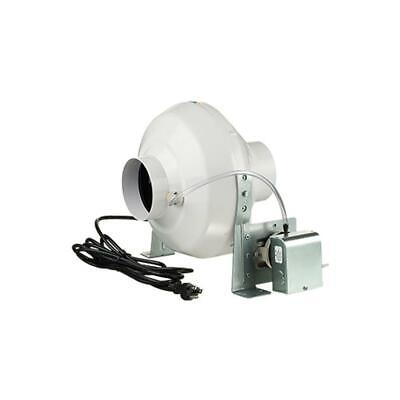162 CFM Dryer Booster Fan With 4 Inch Duct For Electric Clothes Dryer Only