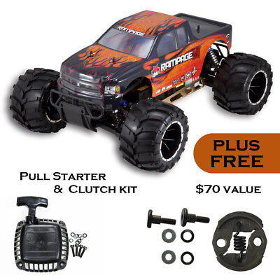 REDCAT RACING RAMPAGE MT V3 1/5 scale Gas Monster RC Truck 32cc + $70 BONUS PART for sale  San Diego