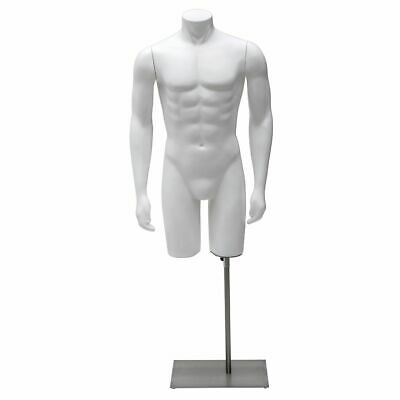 Mannequin Torso Warms To The Side Male