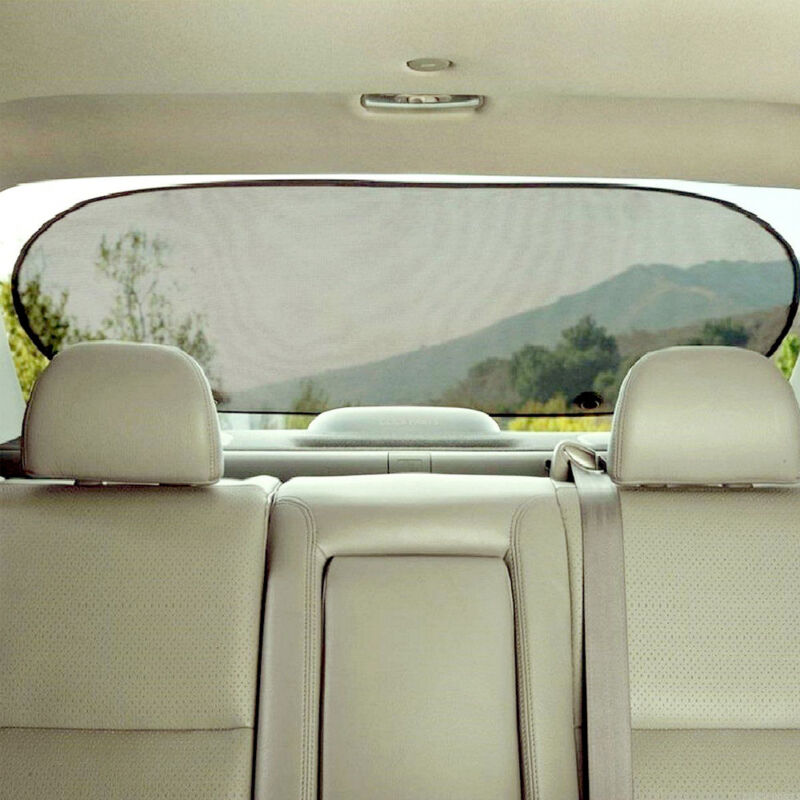 1PC Nylon Side Rear Window Screen Sunshade Sun Shade Cover For Car UV Protection