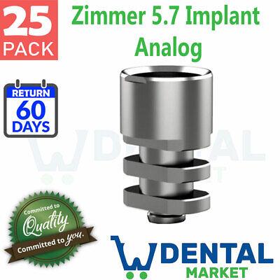 X 25 Zimmer 5.7 Implant Analog