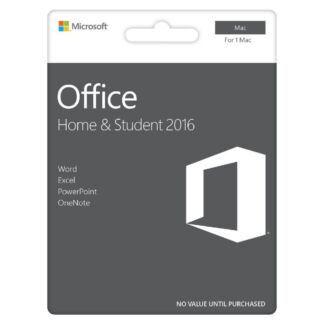 Microsoft Office Home & Student 2016 for MAC - Retail : JB HI-FI