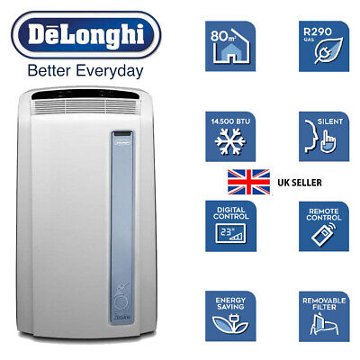 De'Longhi PAC AN98 ECO Real Feel Portable Air Conditioner COOLING CONDITIONING