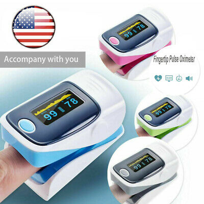 Portable Pulse Oximeter Finger Bargraph Spo2 Monitor Pr Heart Rate Fdace