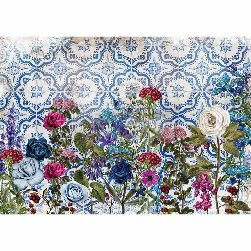 Moonlight Garden Rice Paper by redesign with Prima!