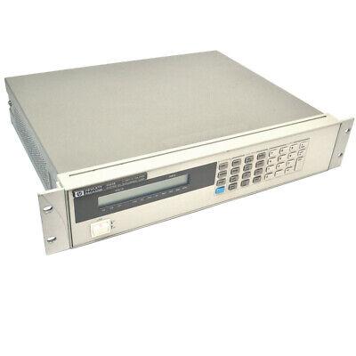 Hp Hewlett Packard 6063b System Dc Electronic Load 3-240v 0-10a 250w 220vac
