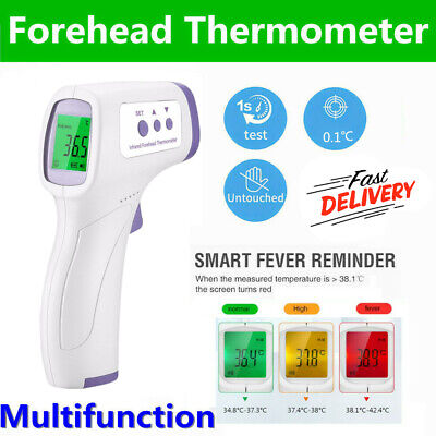 Infrared Forehead Thermometer non touch Digital LCD Termometro Fever Body NEW