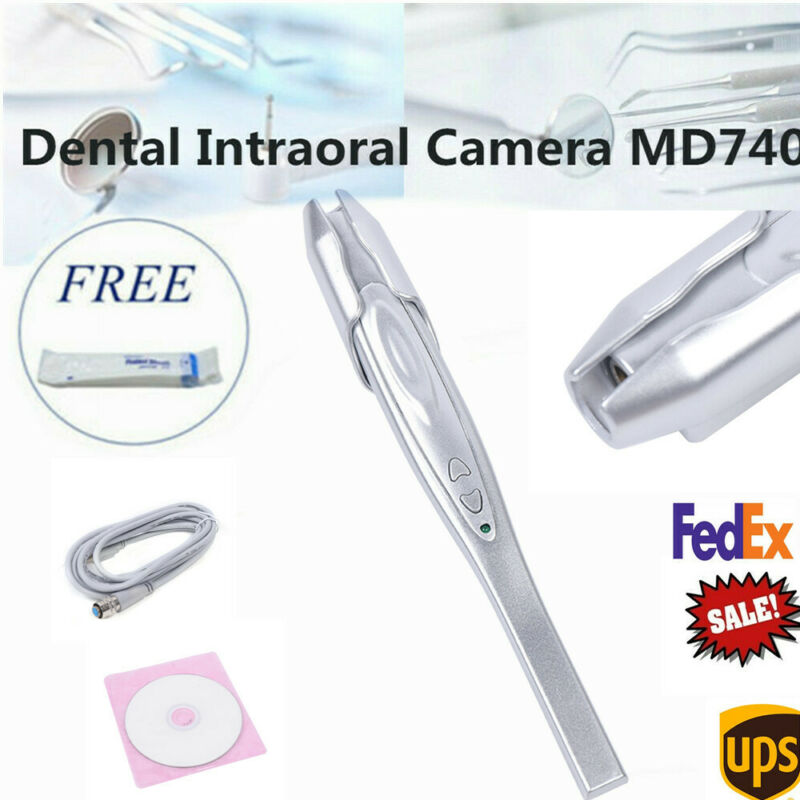 Dental Camera Intraoral Focus Digital USB Clear Imaging Focus MD740A +50 Sleeves