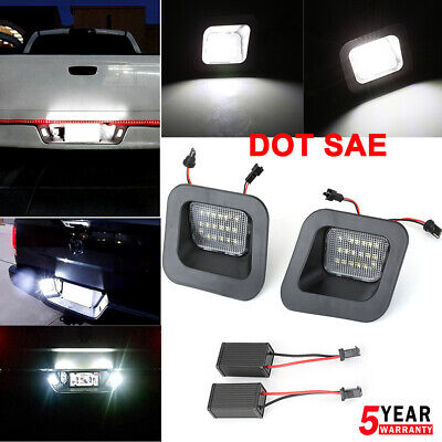 License Plate Rear Bumper Lights LED Lamp for Dodge Ram 1500 2500 3500 2003-2018