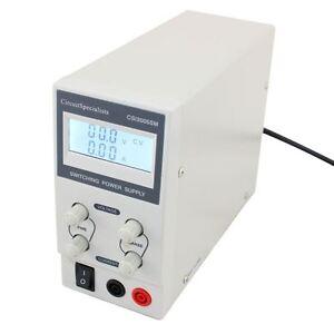 DC Bench Power Supply Switch Mode Adjustable 0-30V 0-5A CSI 3005SM