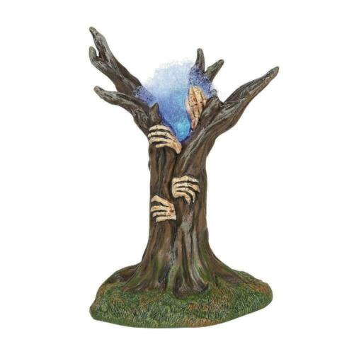Dept 56 HAUNTED TREE Halloween Village Accessory 6005568 DEALER STOCK NEW IN BOX
