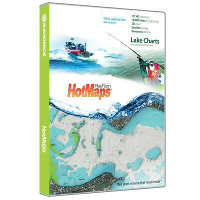 Navionics Msd/Hmpt-E6 Hotmaps Platinum Lake Maps East MicrosdT/SdT