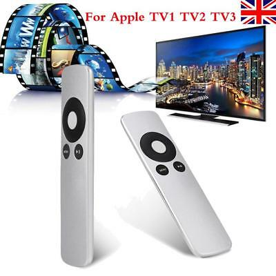 Replacement Genuine Apple TV Remote Control for Apple TV2 TV3 TV4 All Sliver UK