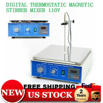 Cj-882a 10l Digital Thermostatic Magnetic Stirrer Mixer Hotplate Constant Temp
