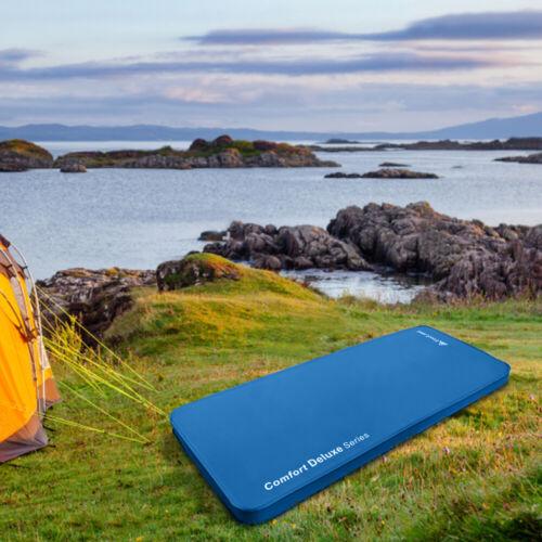 Camping Sleeping Pad Self Inflating Memory Foam Mattress Comfortable 4 Inches