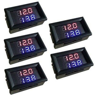 5pcs High Precision Dual Display Digital Thermometer Ntc Waterproof Metal Probe