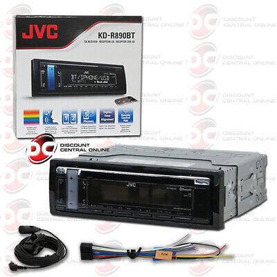 JVC KD-R890BT CD/MP3/WMA Player W/ Front USB AUX Input Pando