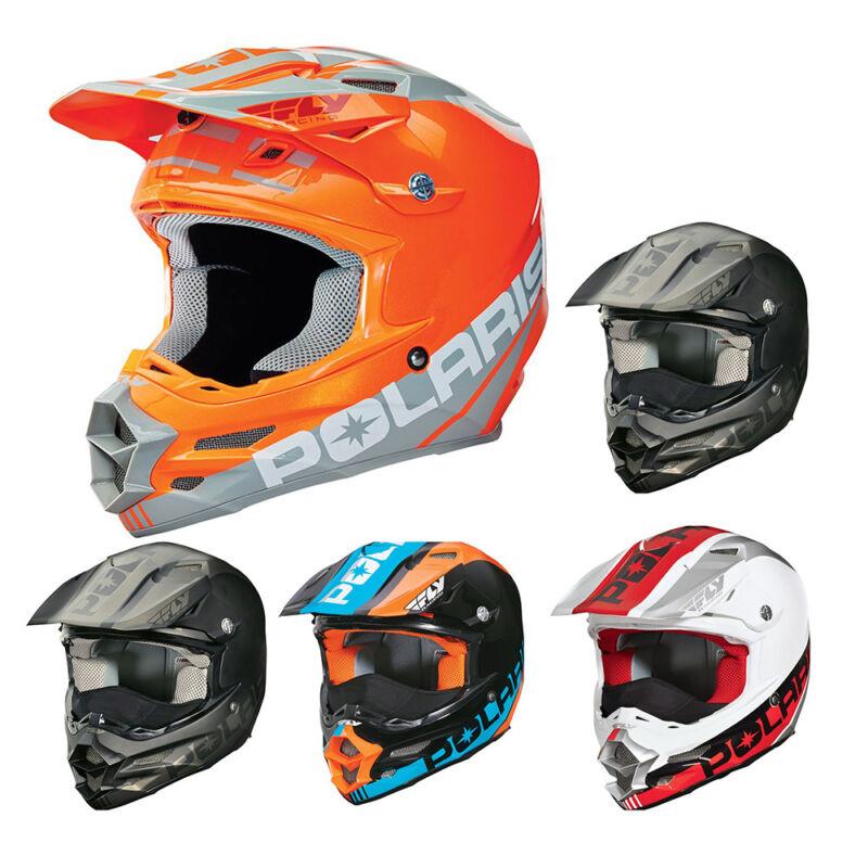 OEM Polaris Fly F2 Carbon Fiber Helmet Breath Deflector Quick Snap Liner XS-5XL