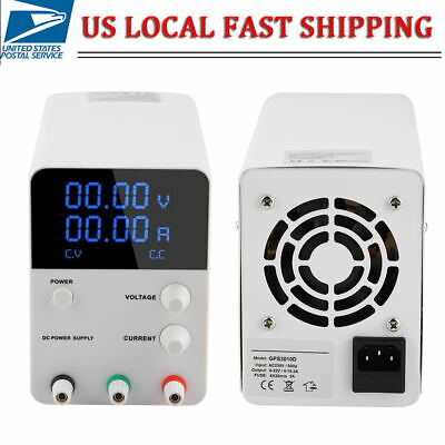 32v 10.2a Digital Dc Power Supply Adjustable Variable Lab Bench Test Equipment