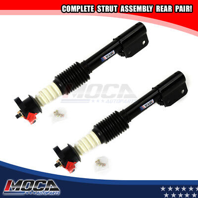 2 Rear Shocks Struts For 90-1996 Buick Regal Chevrolet Lumina Pontiac Grand Prix