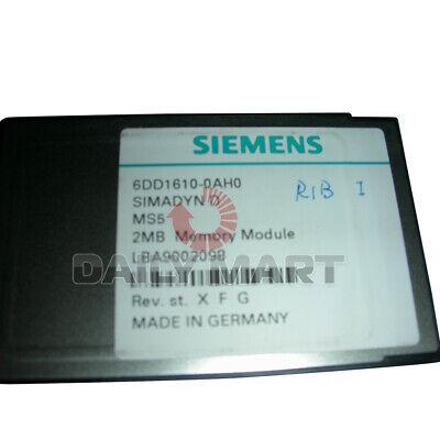 Used Tested Work 100 Siemens 6dd1610-0ah0 Flash Memory Module