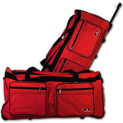 XXL Trolleytasche Sporttasche Trolley Reisetasche mit Rollen Tasche Koffer 160L