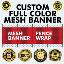Same Day Shipping! 5/' x 15/' Full Color Custom Banner