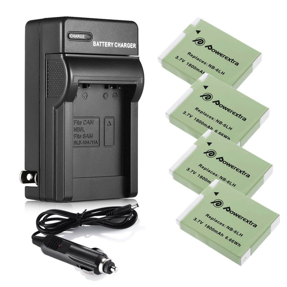 NB-6LH NB-6L Battery for Canon Powershot S95 SD1300 IS SX520