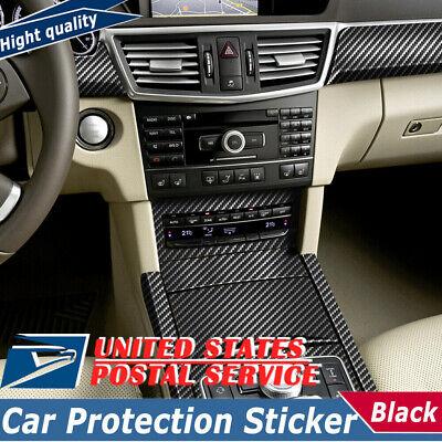 5D Carbon Fiber Vinyl Film Car Interior Wrap Stickers Auto Accessories 12*152cm