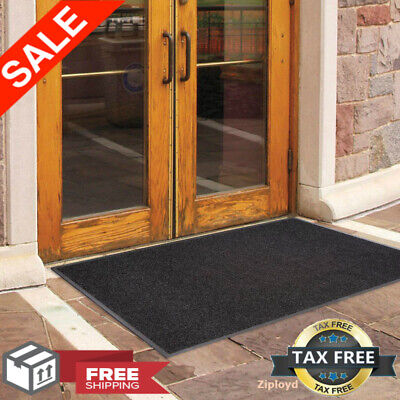 "60"" x 36"" Outdoor Commercial Entrance Floor Mat Indoor Rubbe"