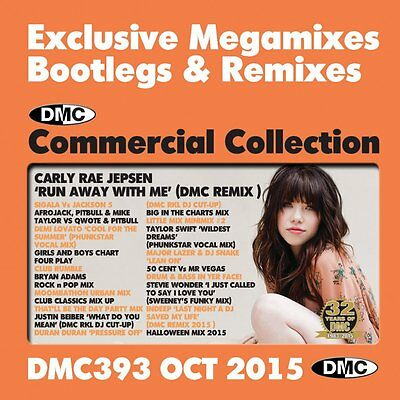 DMC Commercial Collection 393 Club Hits Mixes DJ Music CD In Halloween Mix 2015 (Halloween Mix Music)
