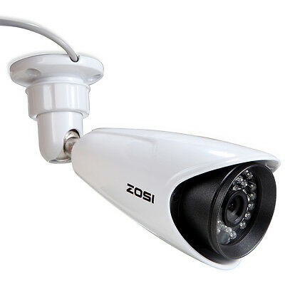 ZOSI 960H 1000TVL 3.6mm Outdoor 100ft Night Vision CCTV Bullet Security Camera