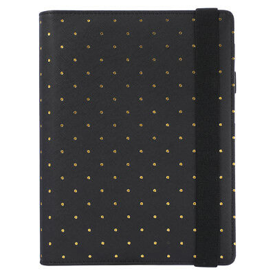 Travel Journal Planner Agenda Binder Spiral Polka Dot Cover With Straps A5 A6