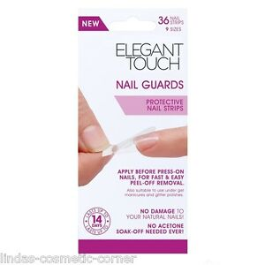 Elegant-Touch-Nail-Guards-Protective-Nail-Strips-36-Nail-Strips-9-Sizes