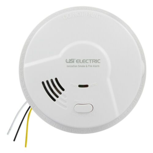USI Electric 5304 Hardwire Smoke and Fire Alarm with Battery Backup