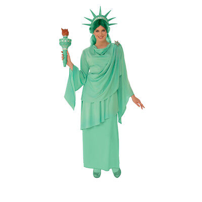 Womens Classic Statue of Liberty Costume (Womens Statue Of Liberty Costume)