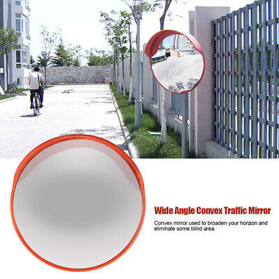 24 Outdoor Wide Angle Security Convex Pc Mirror Road Traffic Driveway Safe Hot