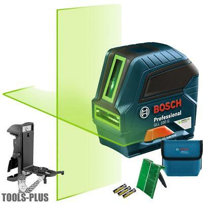Bosch Gll 100 Gx-rt Recon Self-leveling Green-beam Cross-line Laser