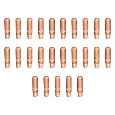 25-pk 11-35 .035 Contact Tips For Tweco Mini 1 Linc. 100l Mig Welding Gun 100a