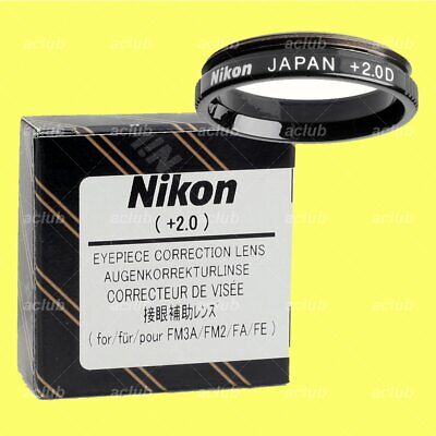 NEW NIKON FINDER DIOPTER 19mm Thread Nikon 0 Diopter FM3A FM2 FE2 /& FA