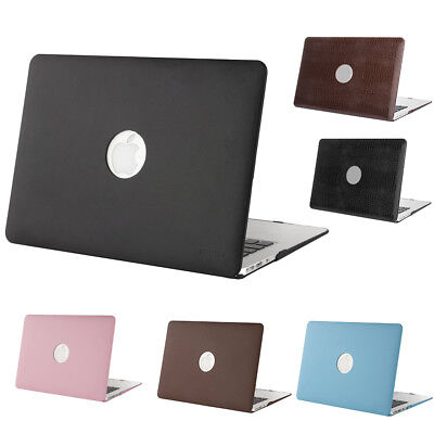 Mosiso Laptop Cover Case for Macbook Air Pro 13 Retina Apple Logo Cut Out 2015