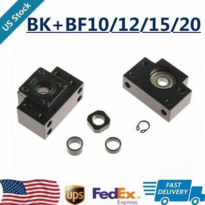 BK/BF10 BK/BF12 BK/BF15/20 SFU1204 SFU1605 BallScrew End Supports Bearing Mounts