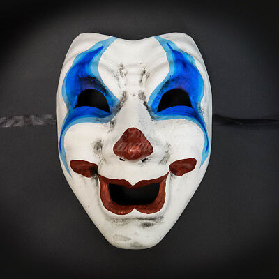 Masquerade Mask 2017 Limited Edition Halloween Comedy Face Clown Costume Unisex (Halloween 2017 Masks)