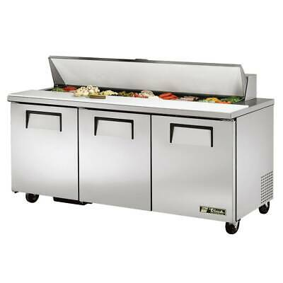 True Tssu-72-18-hc 72 Sandwichsalad Prep Table W Refrigerated Base 115v
