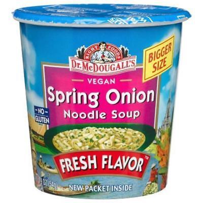 Dr. McDougall's-Spring Onion Vegan Noodles Soup (12-1.9 oz cups)