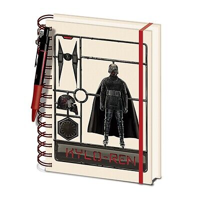 Genuine Star Wars Kylo Ren The Rise Of Skywalker A5 Hardback Notebook Pen Set