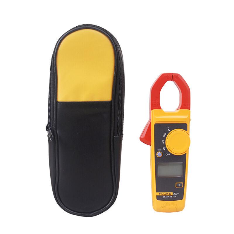 Fluke 302+ Digital Clamp Meter AC/DC Multimeter Tester & Carrying Case